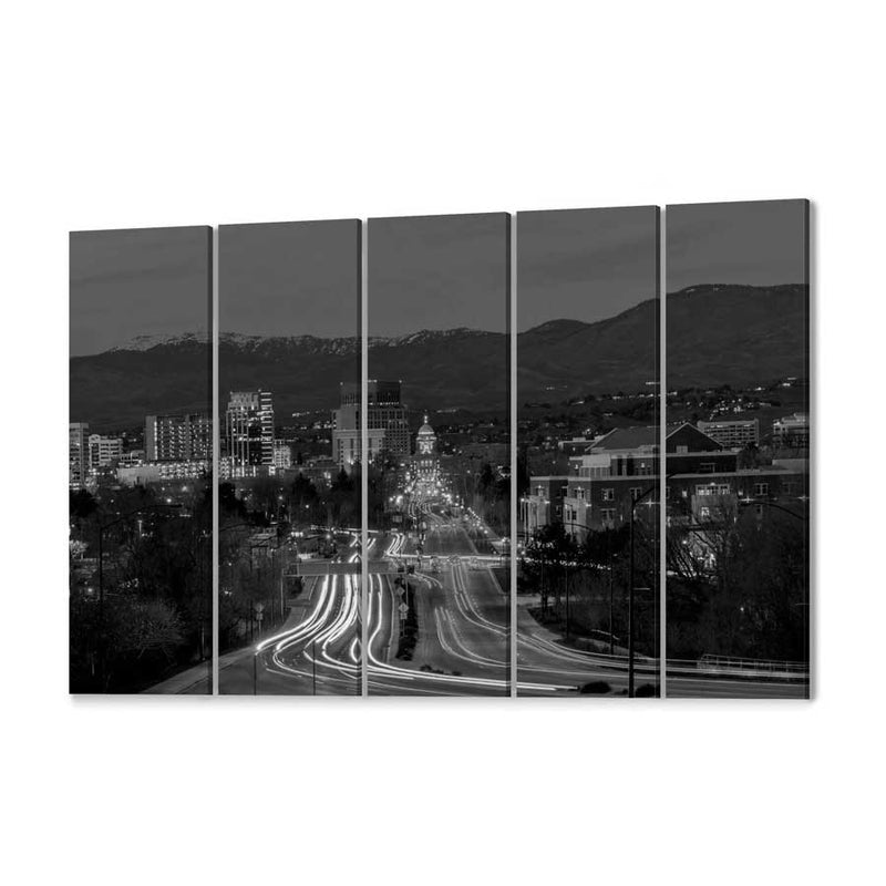 Boise Skyline Canvas Wall Art