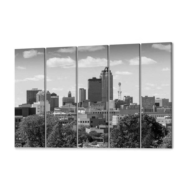 Des Moines Skyline Canvas Print