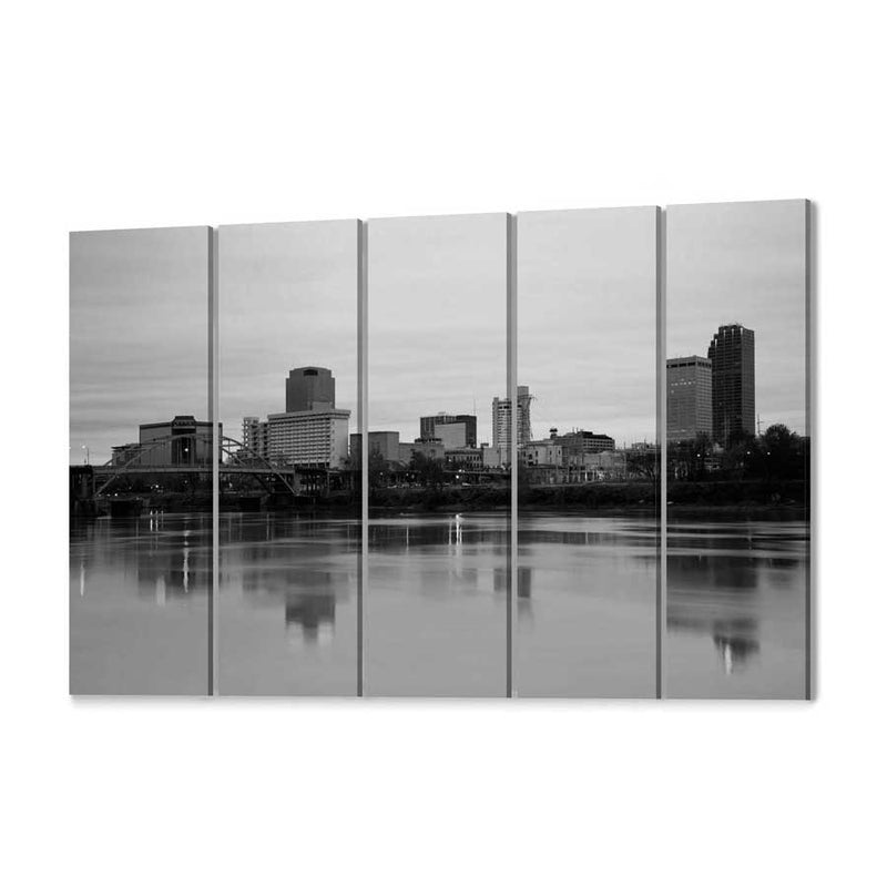 Little Rock Skyline Wall Art