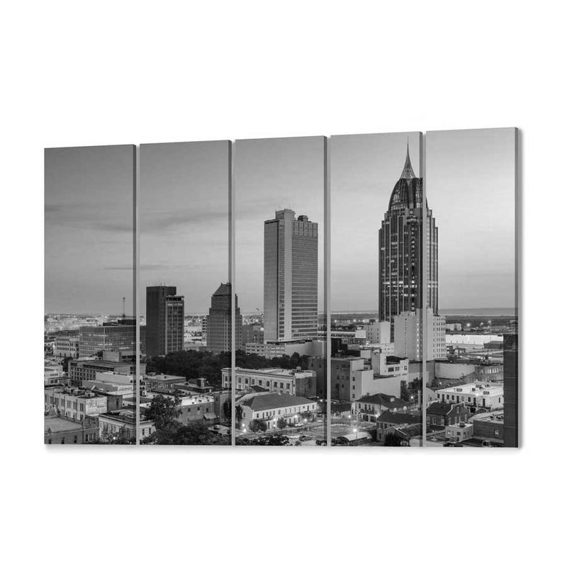Mobile Skyline Canvas