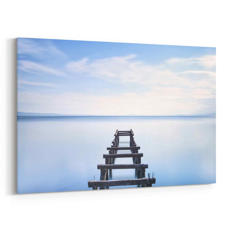 Wooden Pier Canvas Print