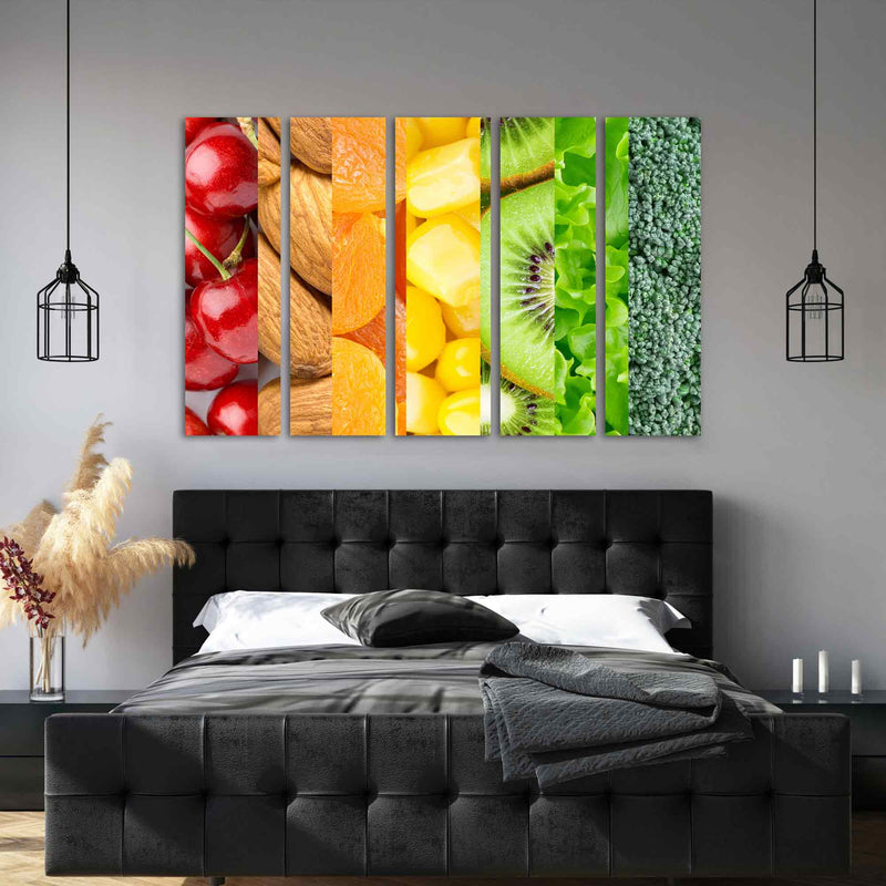 Healthy Food Canvas Print