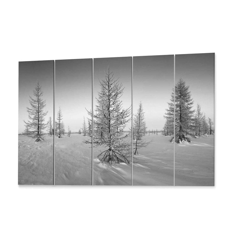 Winter Scene Canvas Wall Art