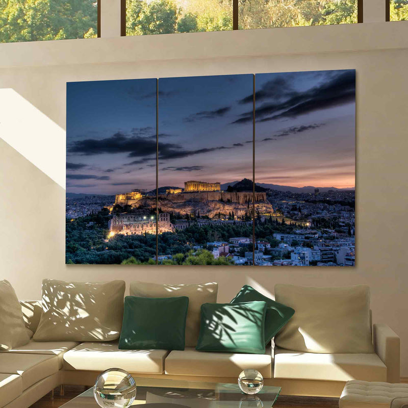Athens Canvas Wall Art