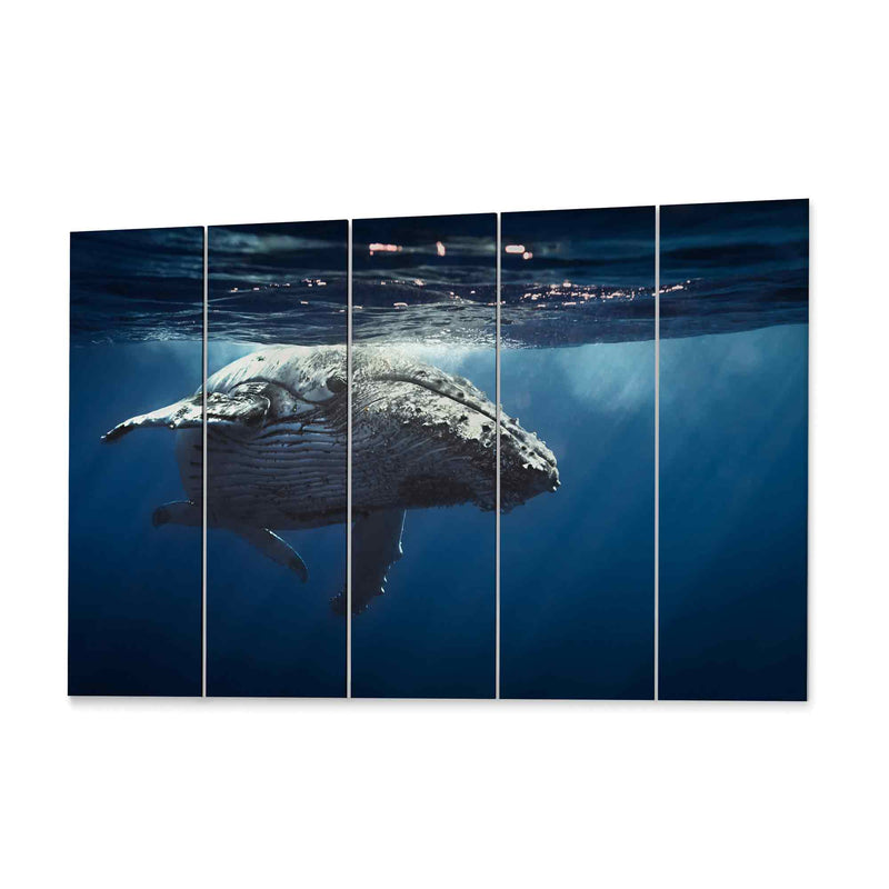 Whale Canvas Wall Decor