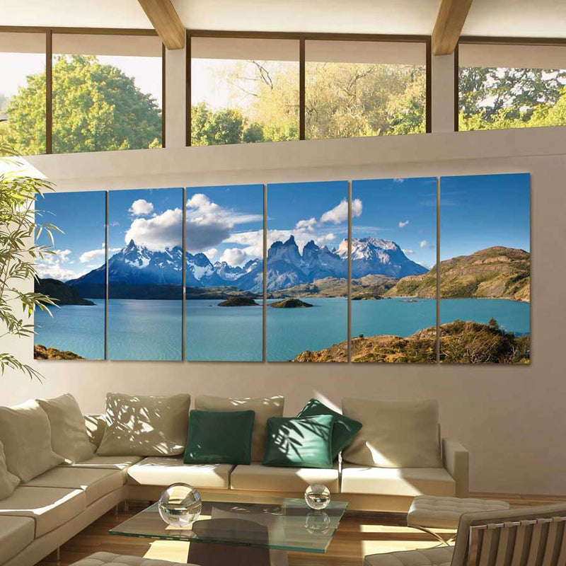 Torres del Paine Canvas Wall Decor