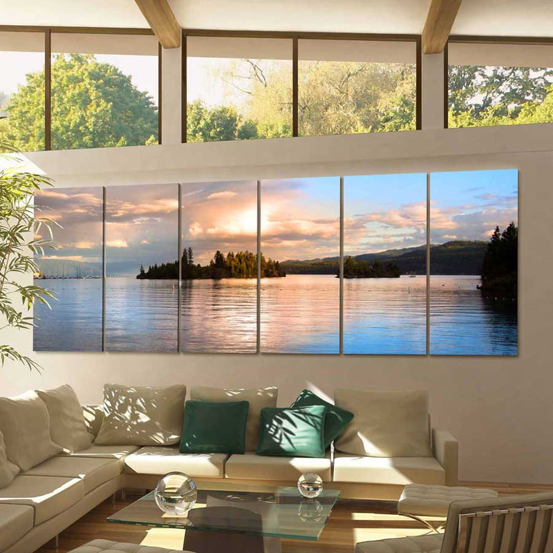 Lake Flathead Canvas Print