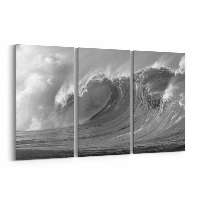Ocean Wave Canvas Wall Decor