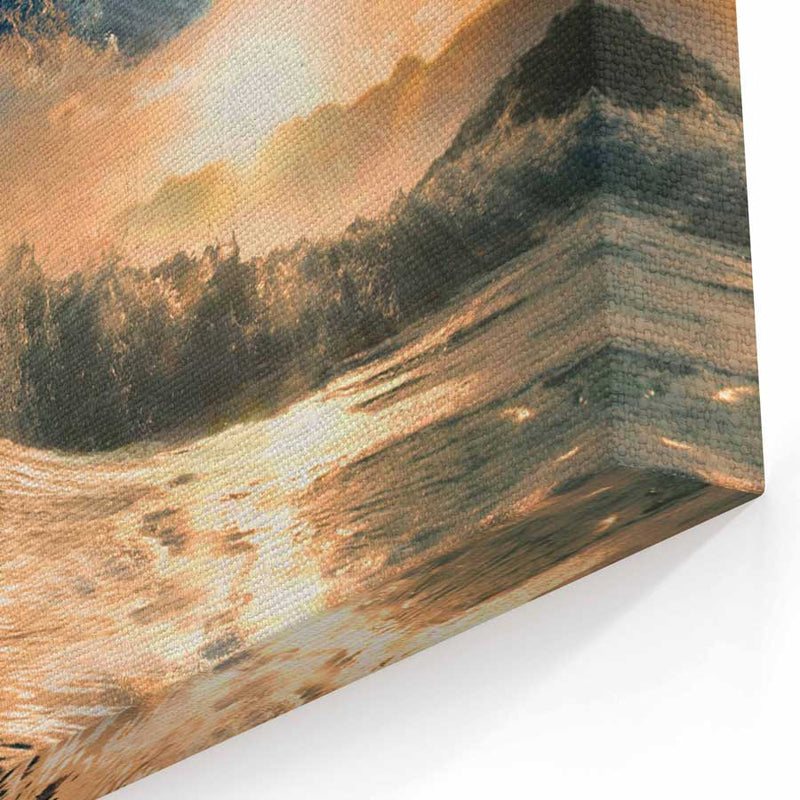 Ocean Wave Canvas Wall Art