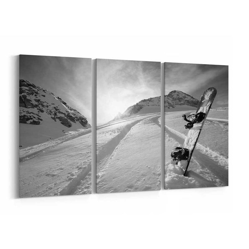 Snowboard Canvas Wall Art