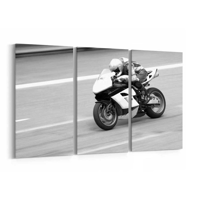 Bike Race Canvas Print