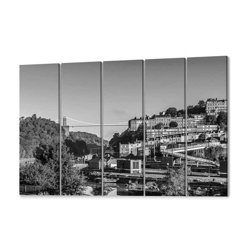 Bristol Skyline Canvas Print