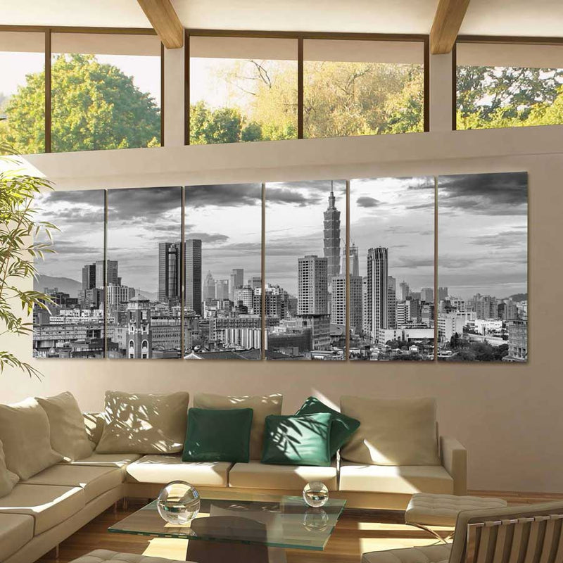 Taipei Skyline Canvas