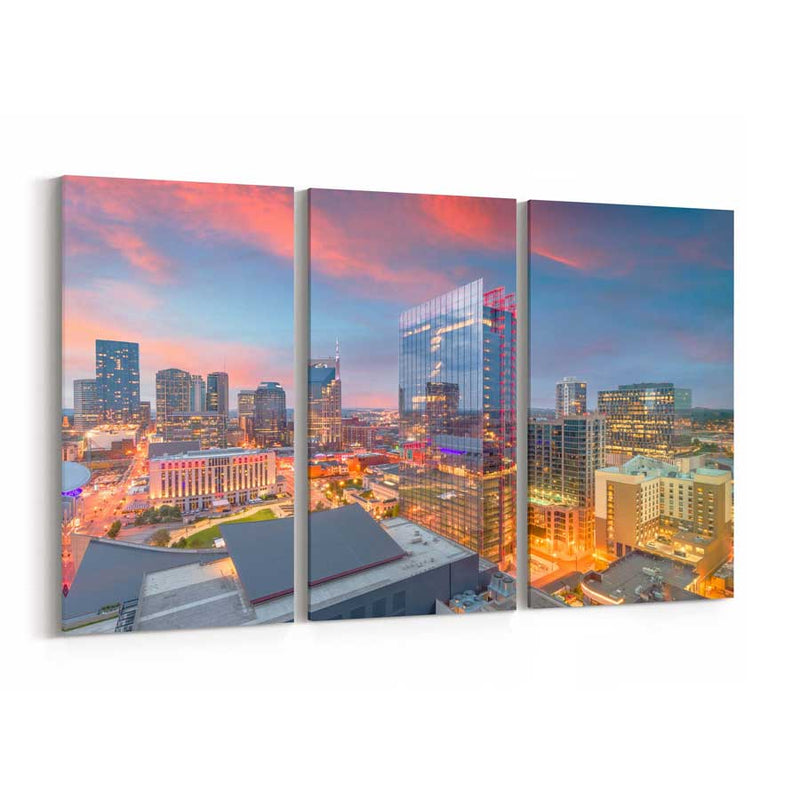 Nashville Skyline Canvas Print