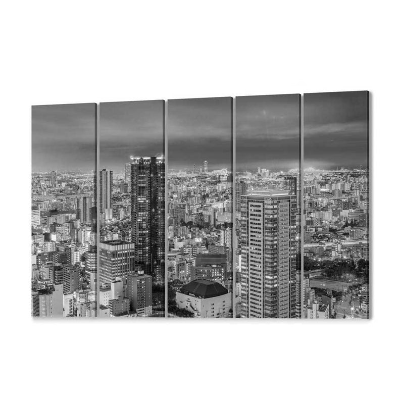 Osaka Skyline Canvas Print