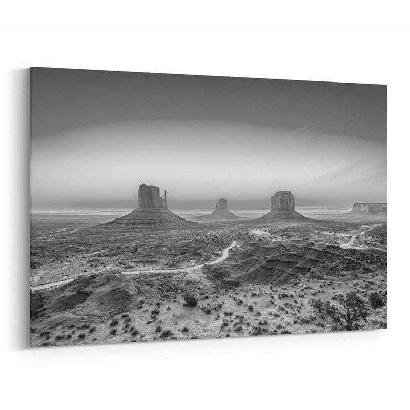 Monument Valley Skyline Canvas
