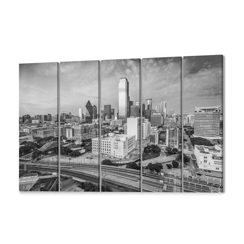 Dallas Skyline Canvas Wall Art