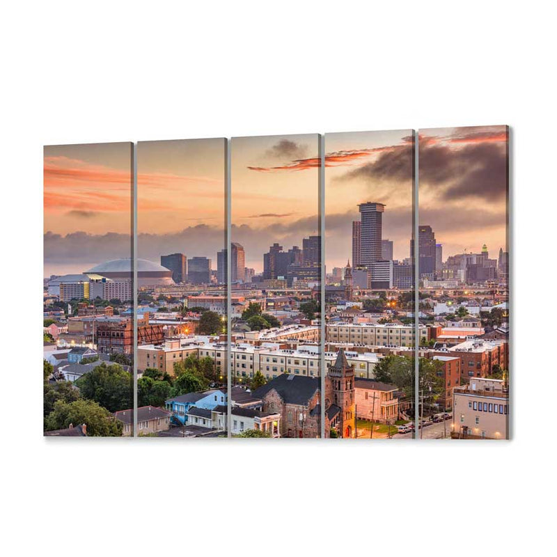 New Orleans Skyline Canvas