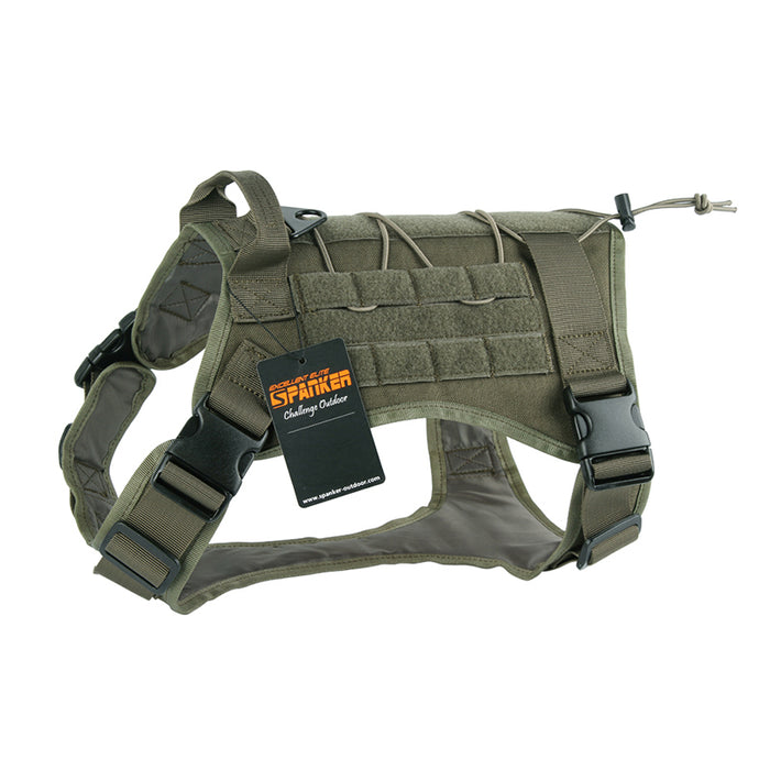 Tactical Dog Harness. TOP QUALITY MOLLE !