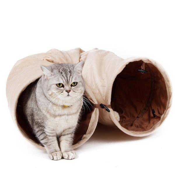 Cat Tunnel - Suede Material 120cm