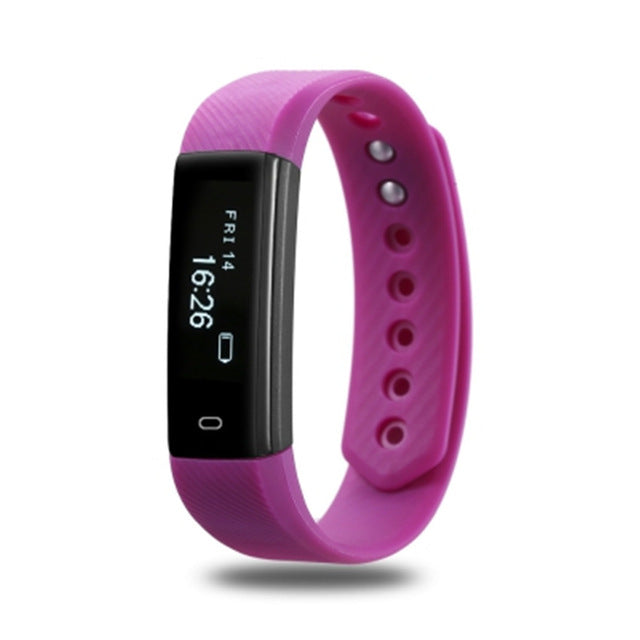 Smart Fitness Tracker Bracelet. For Iphone &  Android phone.