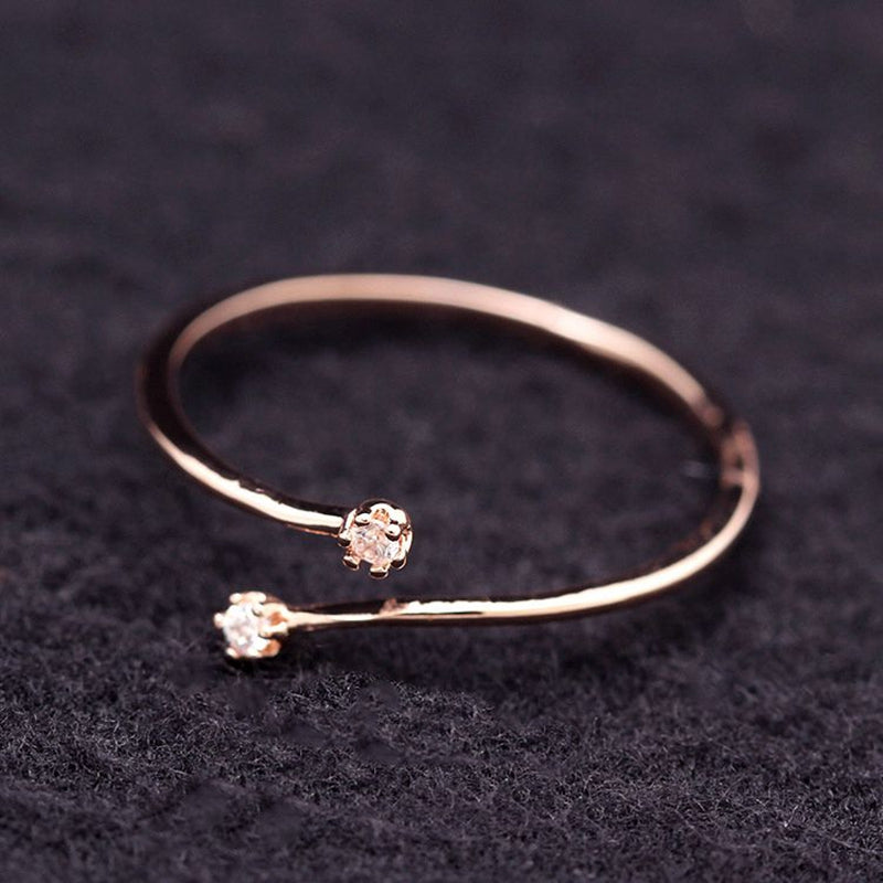 Small Cubic Zircon Ring