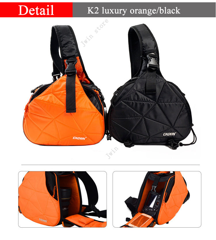 Triangle Sling waterproof Bag for Camera