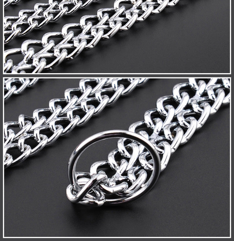 Dog Double Chain Collar