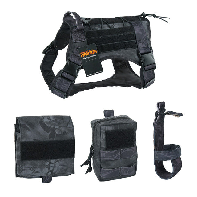 High Quality Tactical Dog Training Harness