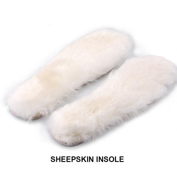 Super Soft Natural Sheepskin Wool Insoles