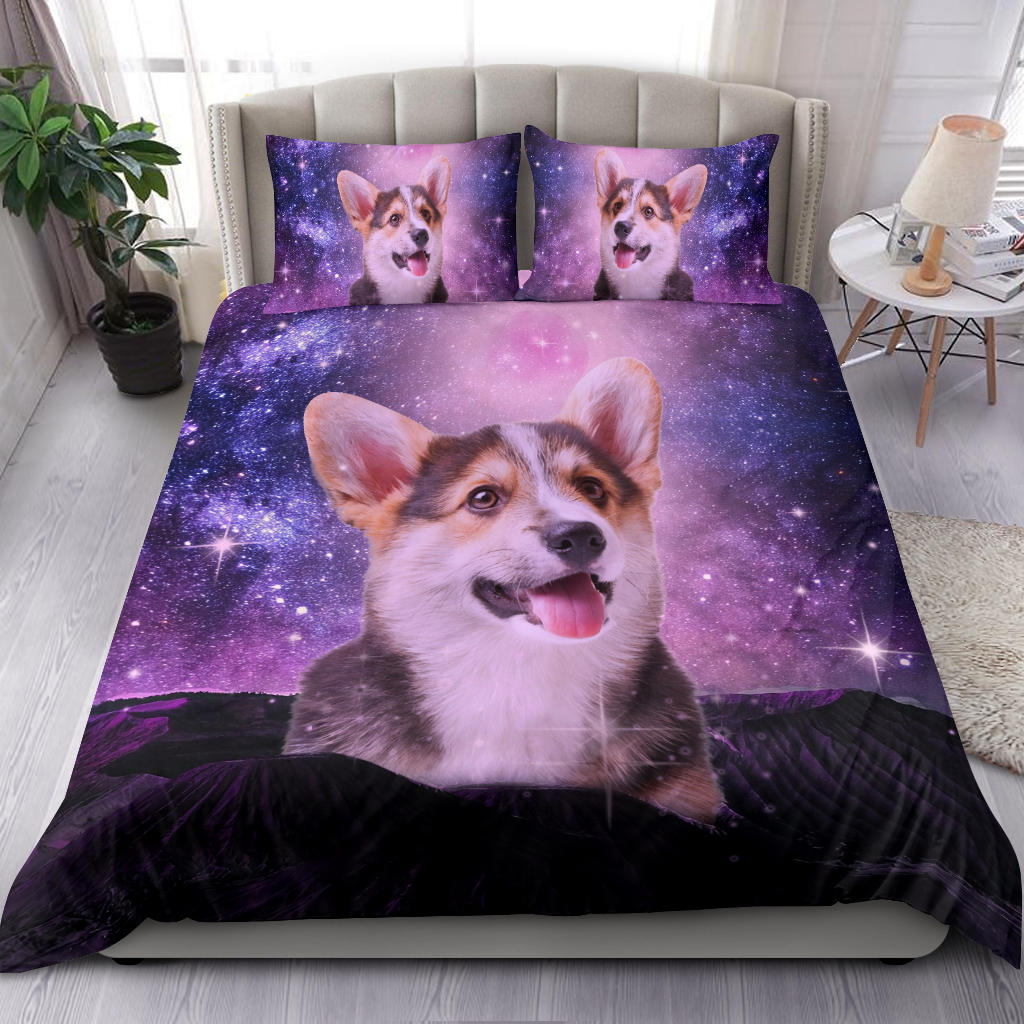 corgi sheet set