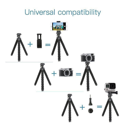 MS-4J  Flexible Tripod - FotoproOfficial