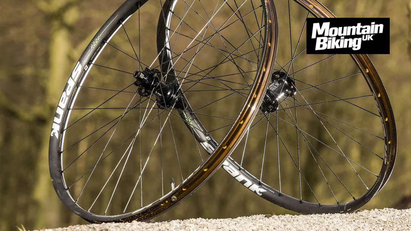 Spike 350 Vibrocore™ wheelset proves MOST WANTED in MBUK Review