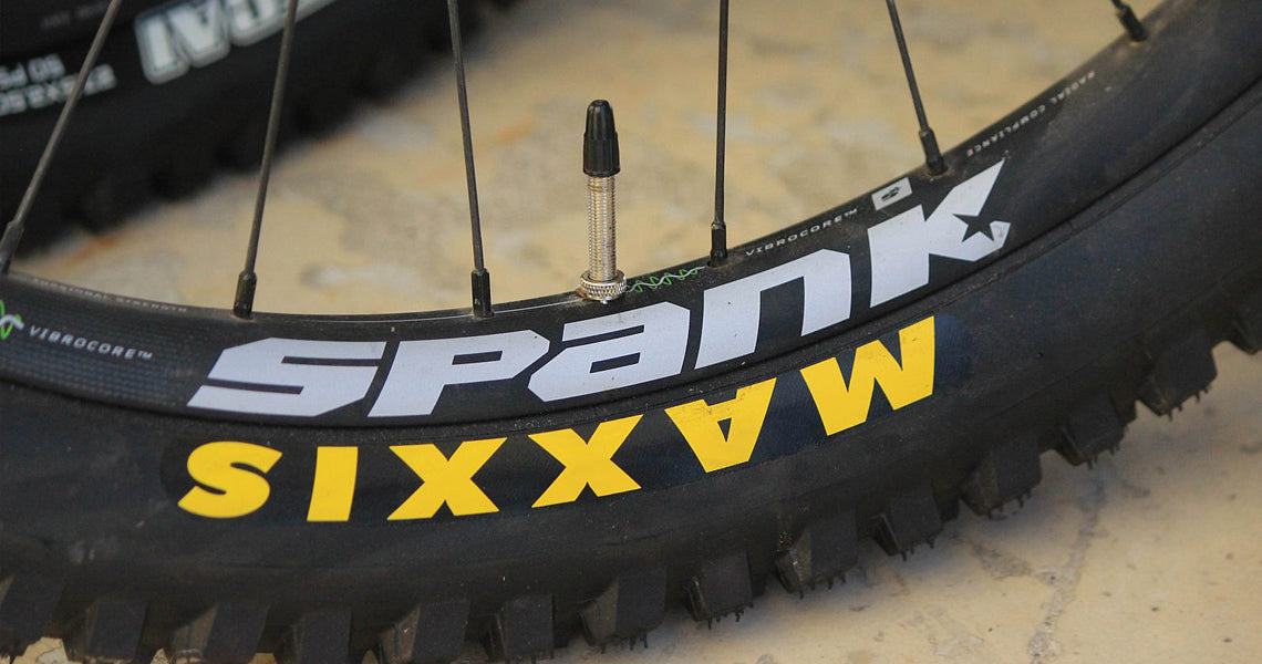 350 VIBROCORE™ WHEELS tested & reviewed by Simon Silver, MTB MAG