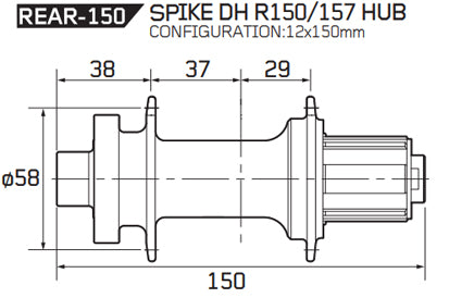 148mm boost and 150mm DH hub  Singletrack Magazine