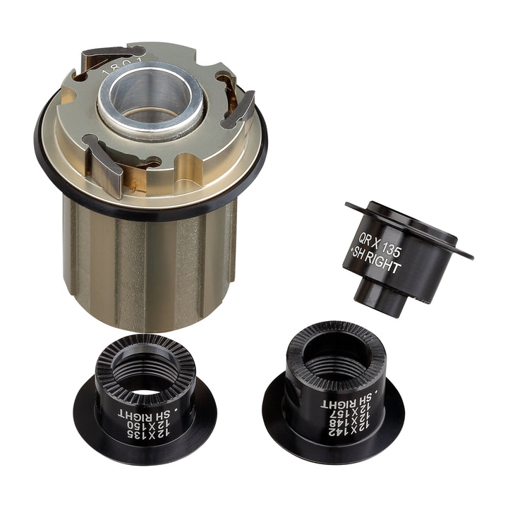 OOZY / SPIKE Rear Hub Alloy Shimano HG Freehub & Adaptor Kit
