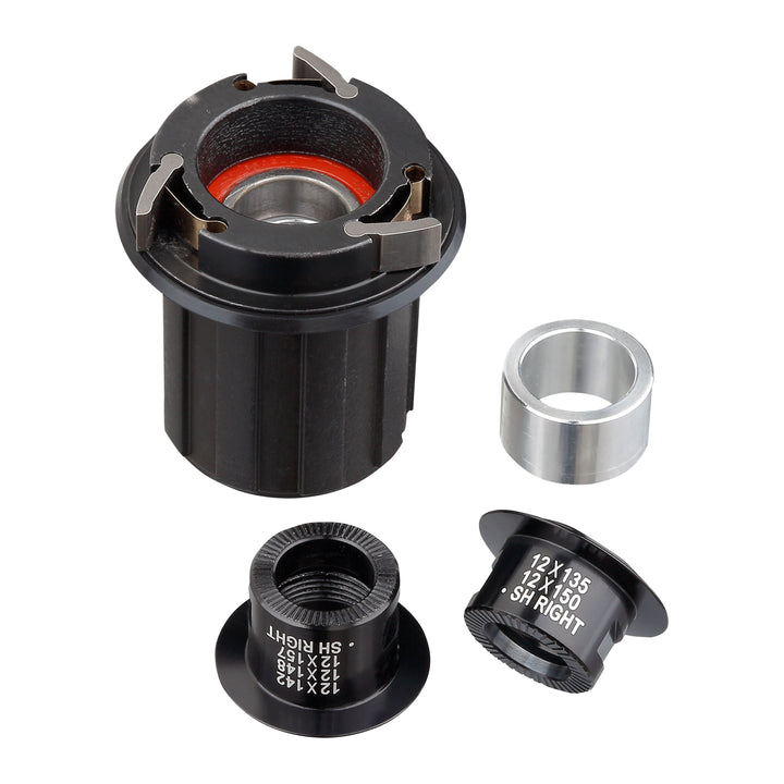 OOZY / SPIKE Rear Hub Steel Shimano HG Freehub & Adaptor Kit