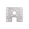 15mm Metal Flat Bare Motor Bracket - 4 Pack