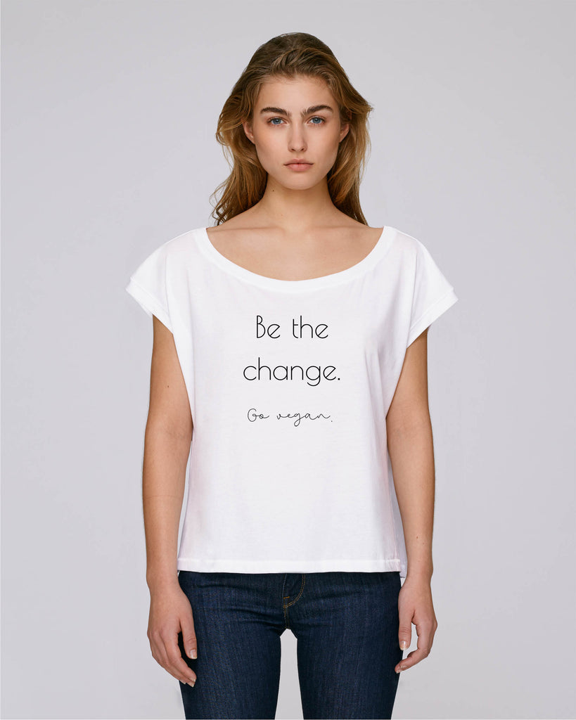 "Shirt ""Be the change"" One"