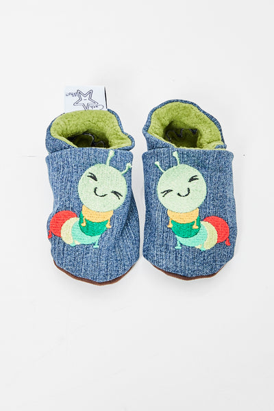 "Slippers ""Caterpillar"""