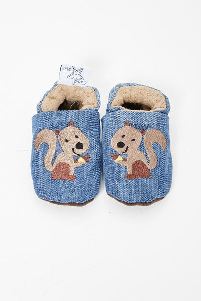 "Slippers ""Squirrel"""