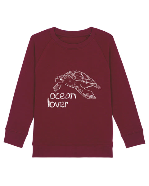 "Kids-Sweater ""Ocean Lover"""