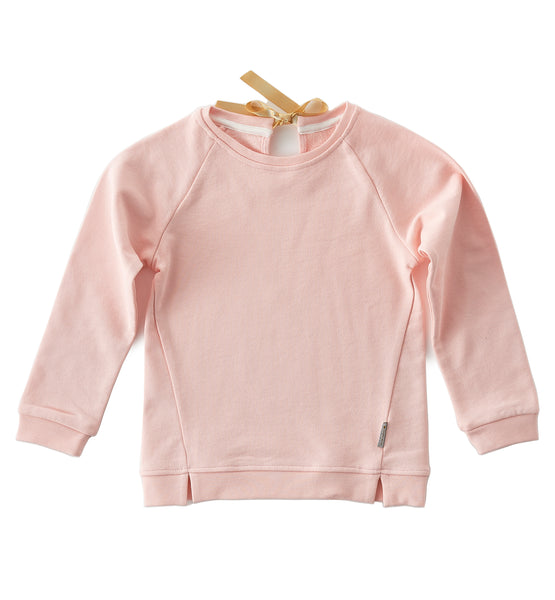Pullover mit Band - cotton candy