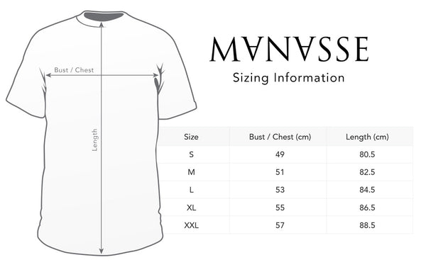 Manasse Product Page Sizing Diagram