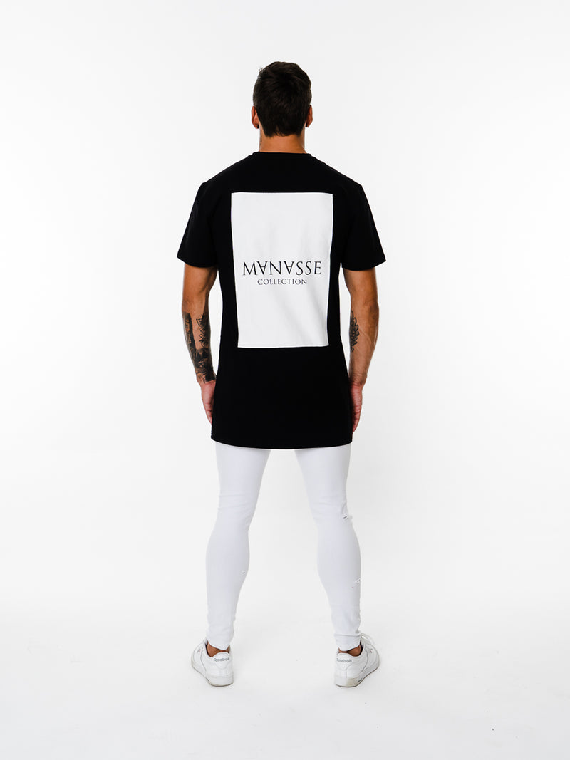 Mens - Manasse Basix Collection Tee (Black)