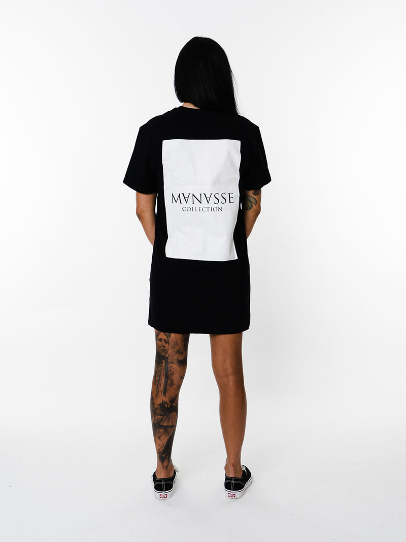 Womens - Manasse Basix Collection Tee (Black)