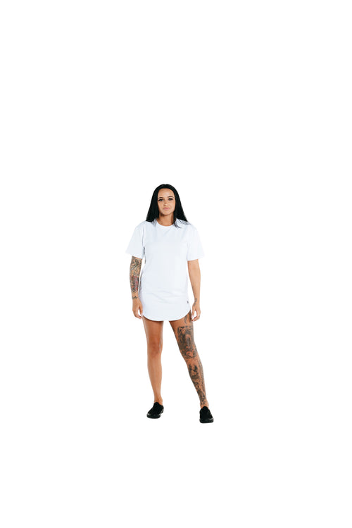 Manasse Women's Spinal Tall Tee (White)