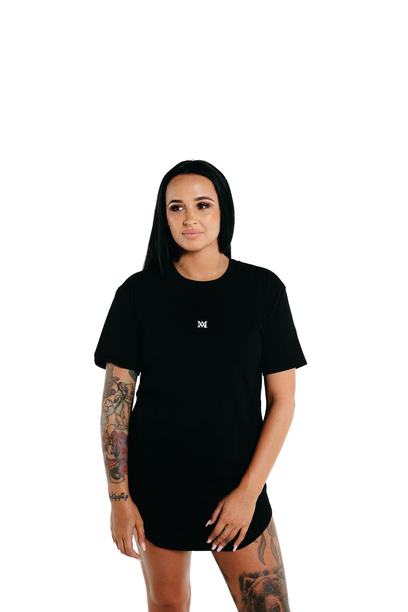 Manasse Women's NEW Basixx Tall Tee (Black)