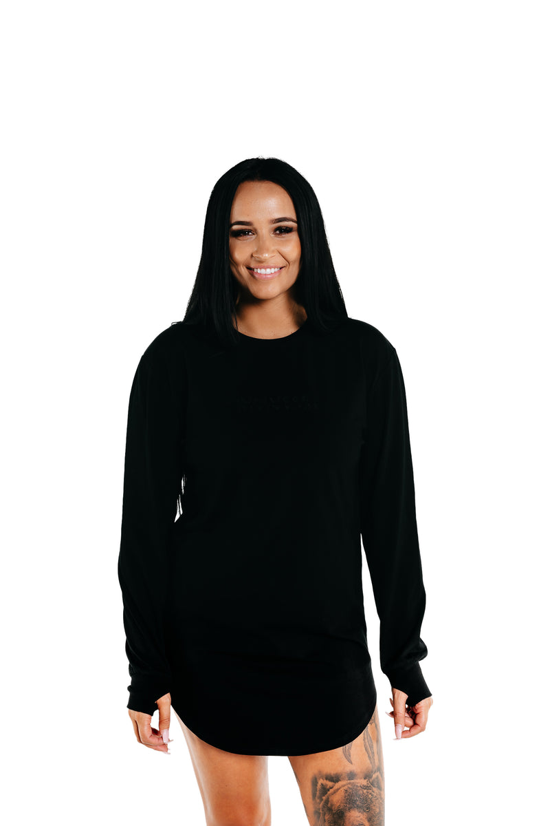 Manasse Women's Duplo Long Sleeve (Black)