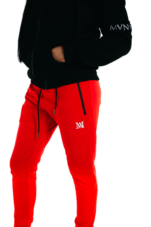 Manasse Women's Trackies (Red)